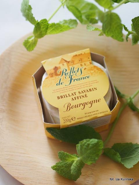 brillat savarin affine , ser pleśniowy , testowanie , sałatka z serem pleśniowym