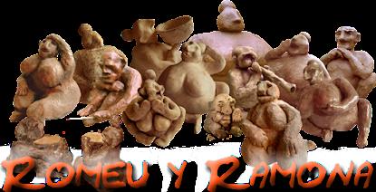 Unas figuritas de barro.