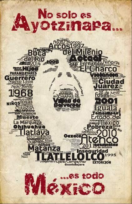 No solo es Ayotzinapa... es todo México