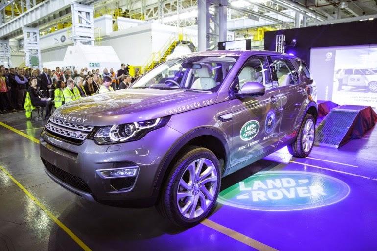 стоимость Land Rover Discovery Sport в России