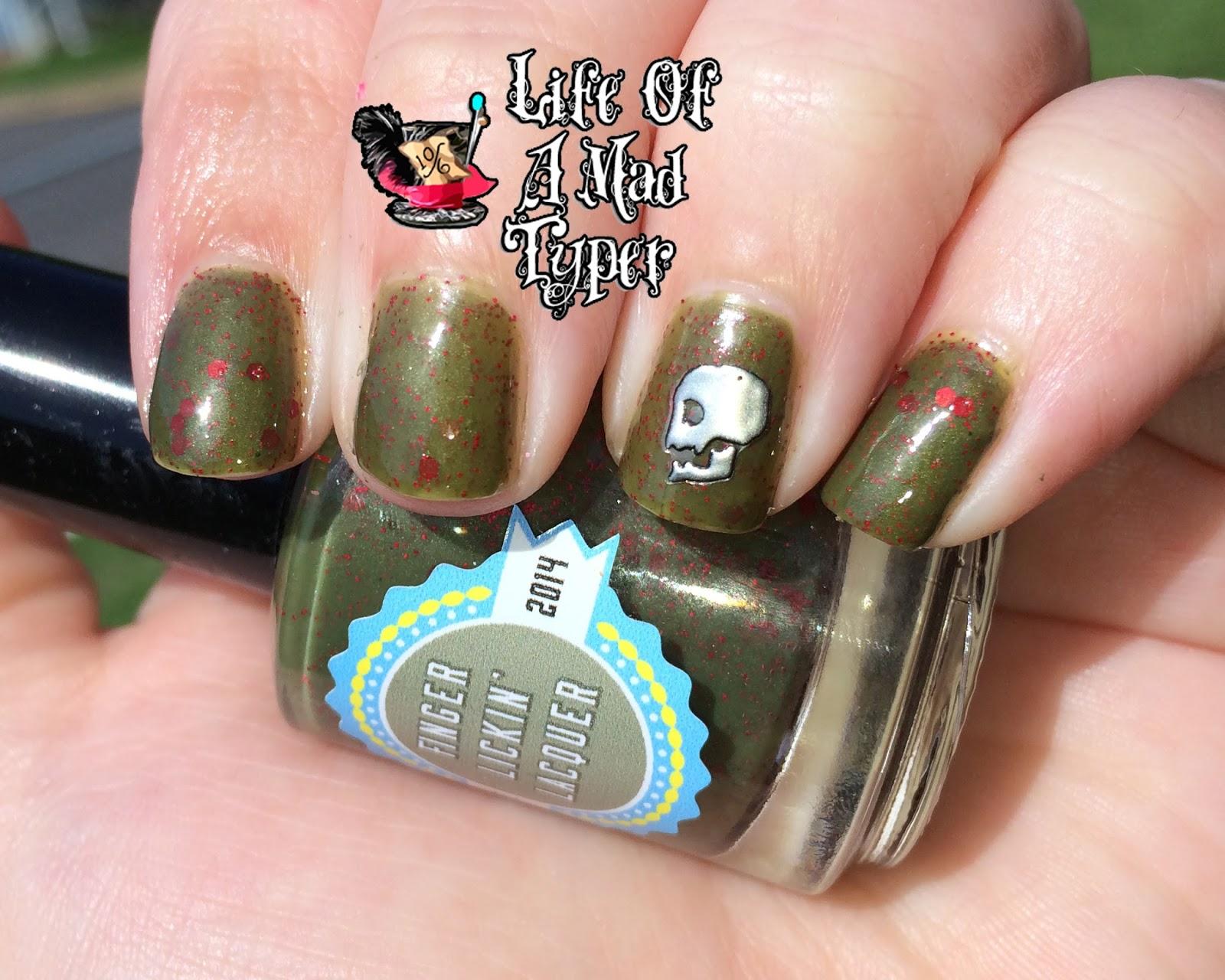 Croatoan Finger Lickin lacquer