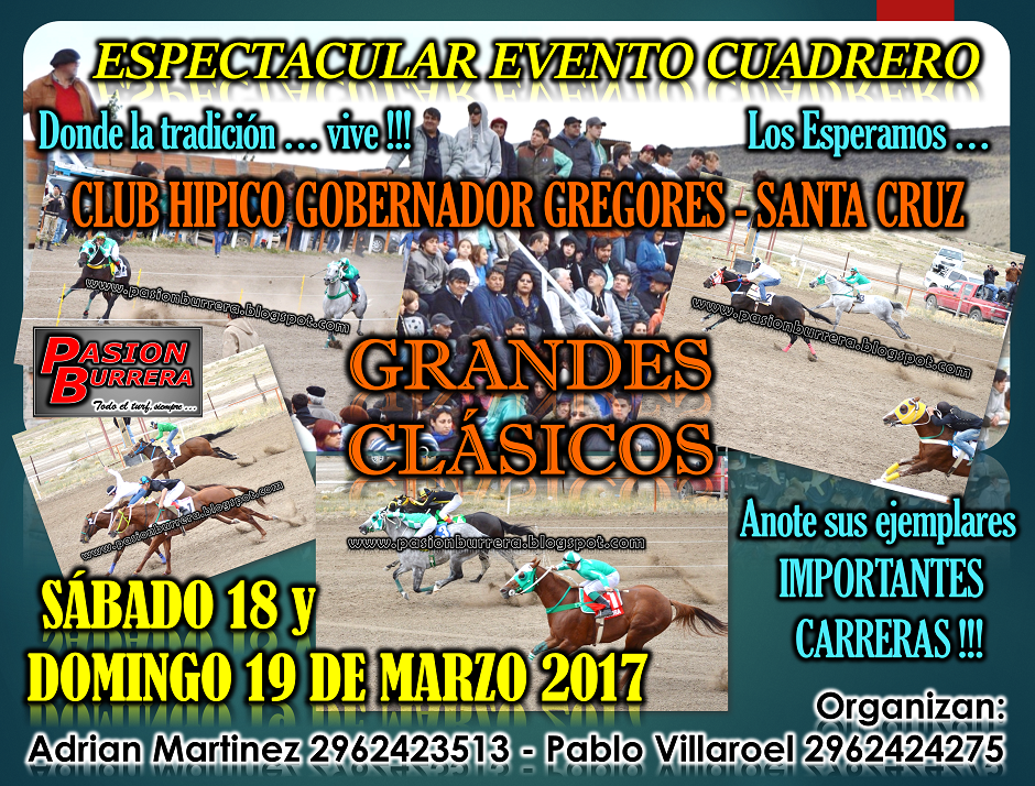 GDOR. GREGORES - 18 Y 19 DE MARZO