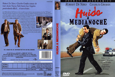 Huida a medianoche | 1988 | Midnight Run | Cover DvD