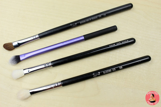 pinceles brush eyebrush brush zoeva real techniques deliplus sigma makeup
