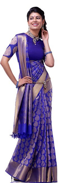 different styles to drape saree