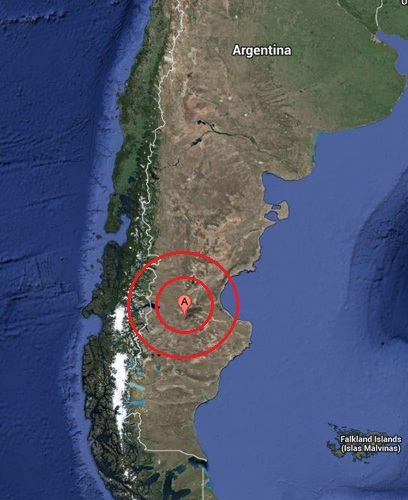 las heras, argentina earthquake 2013 July 22
