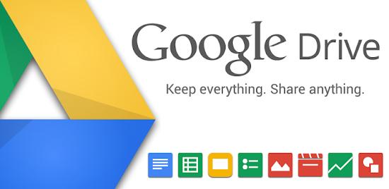 Dengan Google Drive anda bisa hosting semua jenis file untuk download
