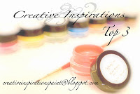 Top Three at Creative Inspirations