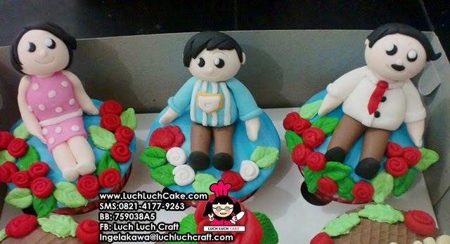 Cupcake romantis untuk ulang tahun istri