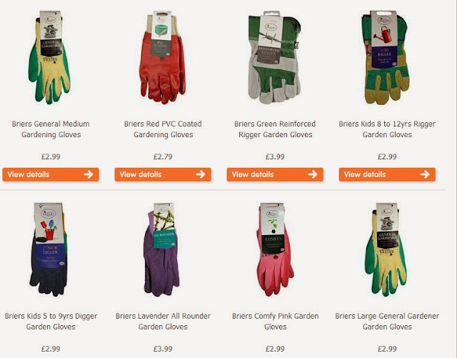 ... Briers (very Good Brand In My Opinion) Gardening Gloves Are £5.00+,  However, I Have Found That Shops That Are More General Seem To Be More  Reasonable.