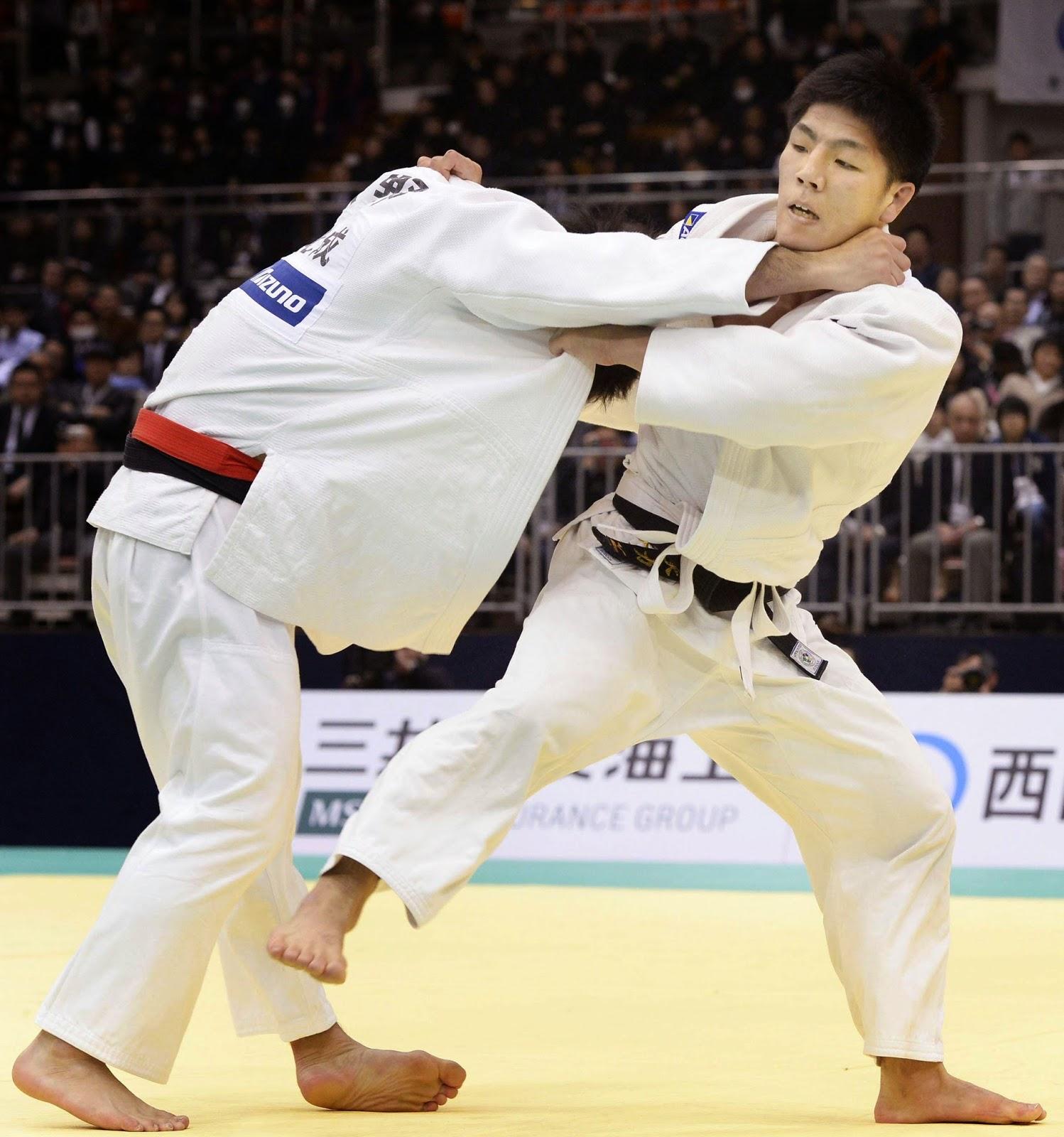 Shohei Ono y Riki Nakaya