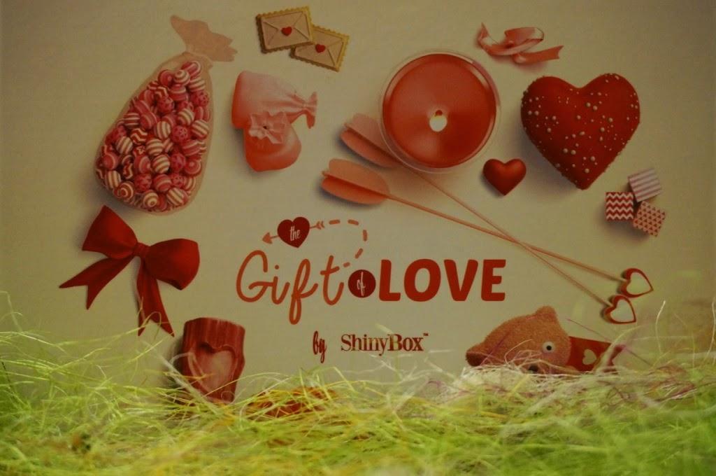 Podarunek miłości - czyli lutowa edycja pudełka ShinyBox
