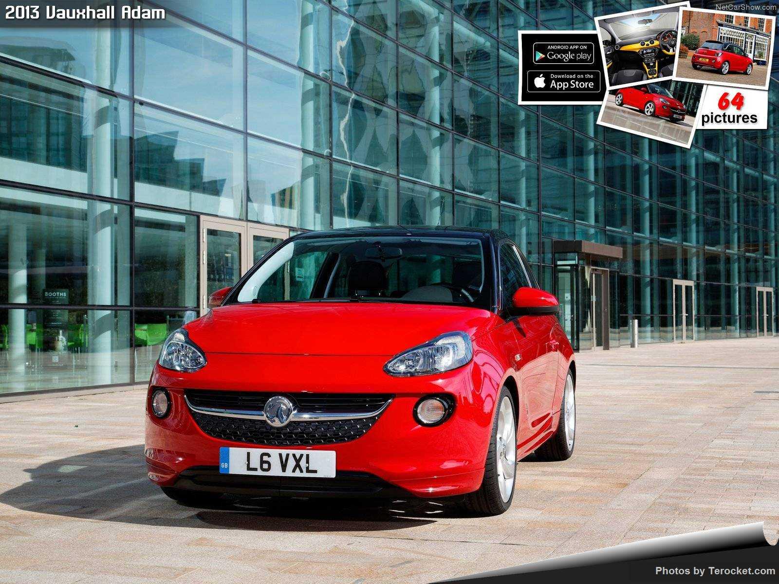 Hình ảnh xe ô tô Vauxhall Adam 2013 & nội ngoại thất