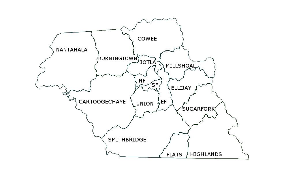 Macon County Voting Precincts