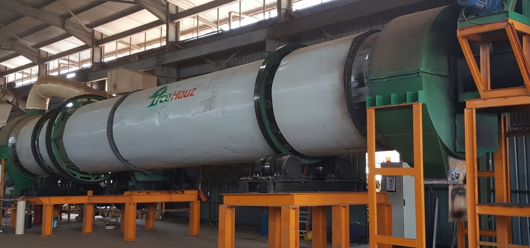 6TPH Drum Dryer