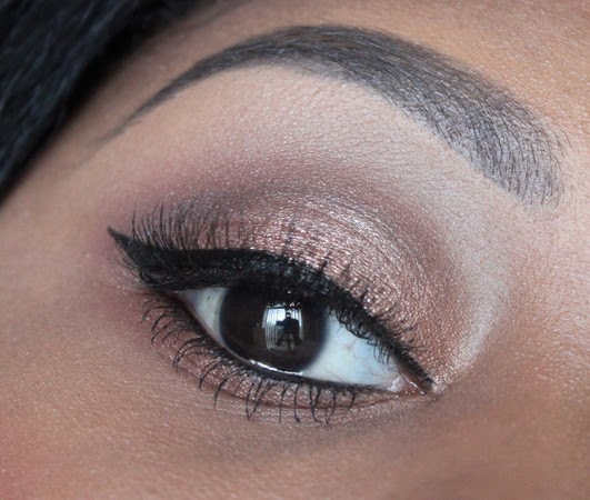 Bronze Makeup Eye Look