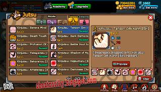 Ninja Saga Hack All Secret Jutsu March 2012 Tool :