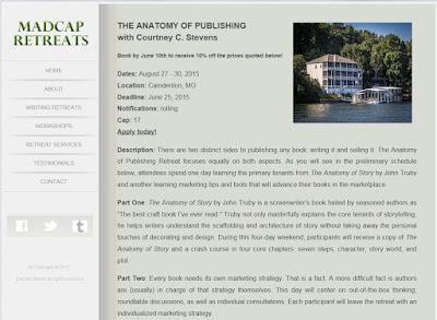 http://madcapretreats.com/anatomyofstory.html