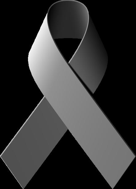 Brain Cancer Ribbon Clip Art