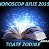 Horoscop iulie 2015 - Toate zodiile