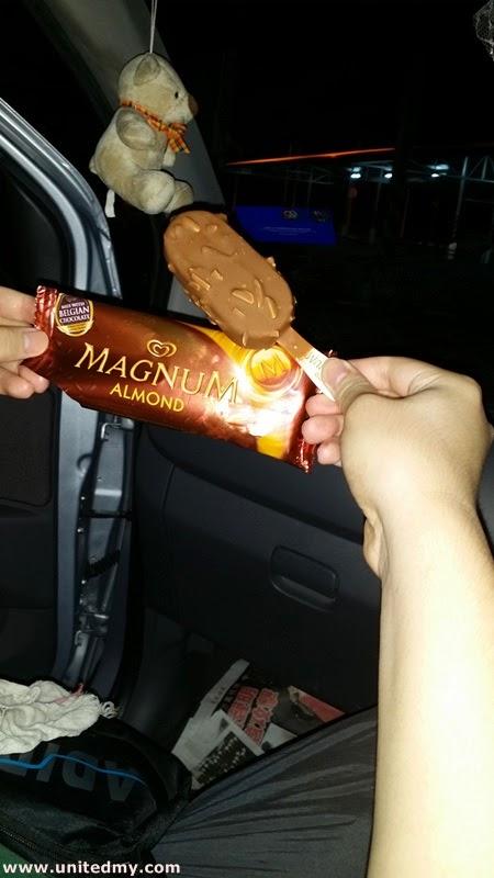 Magnum Almond ice-cream