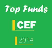 Year to Date Best Performing Closed End Funds 2014