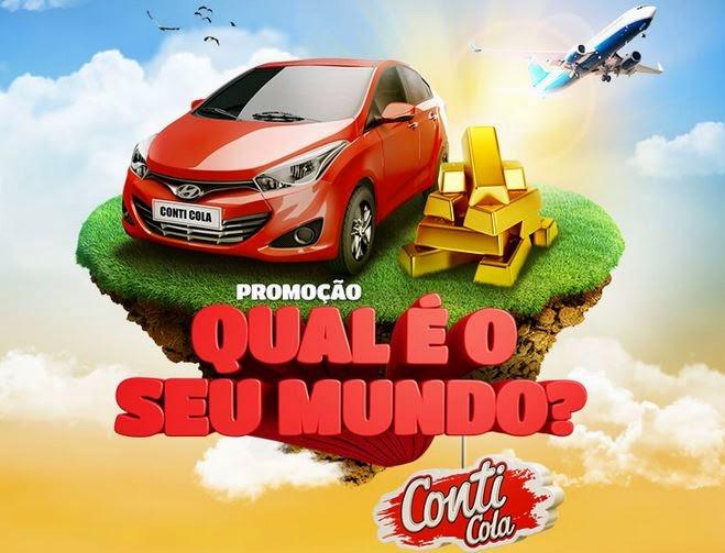 Promoção Conti-Cola Qual é o seu mundo?