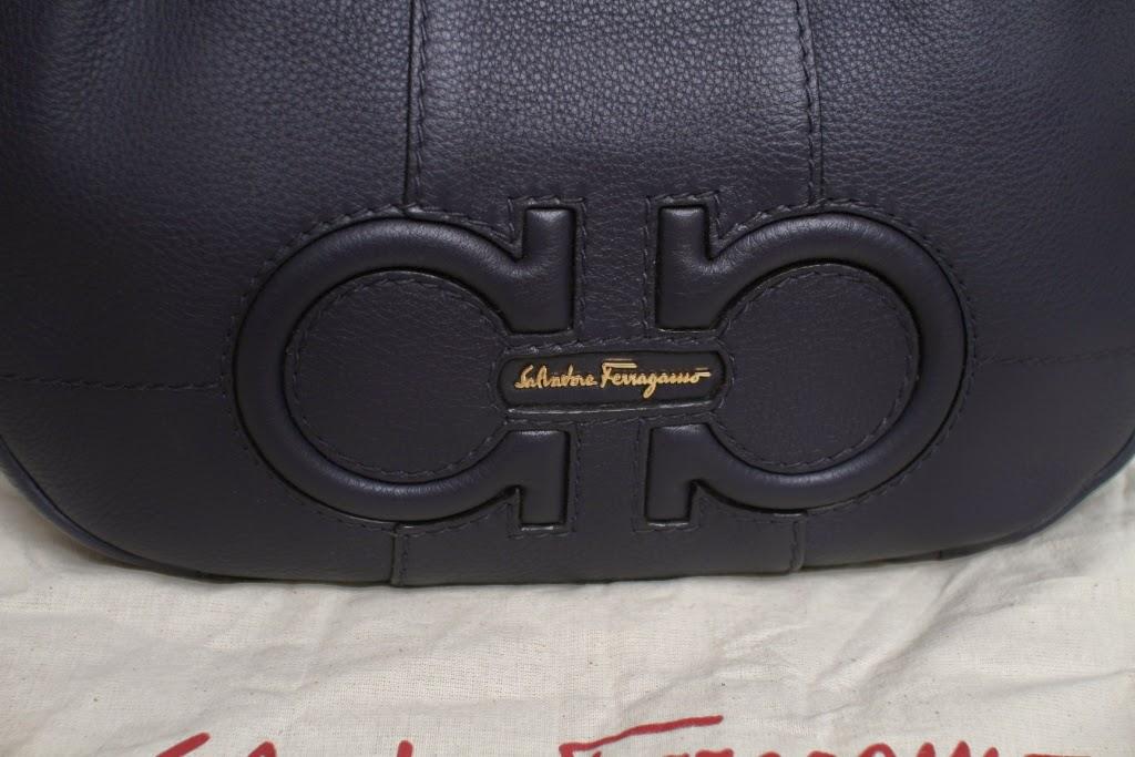 Salvatore Ferragamo Leather Hobo