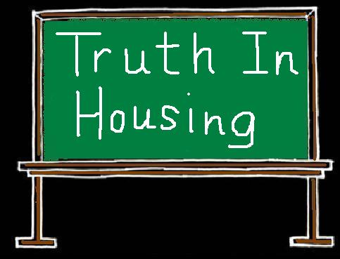 First Time homebuyer Truth in Housing Blackboard by Teri Eckholm REALTOR