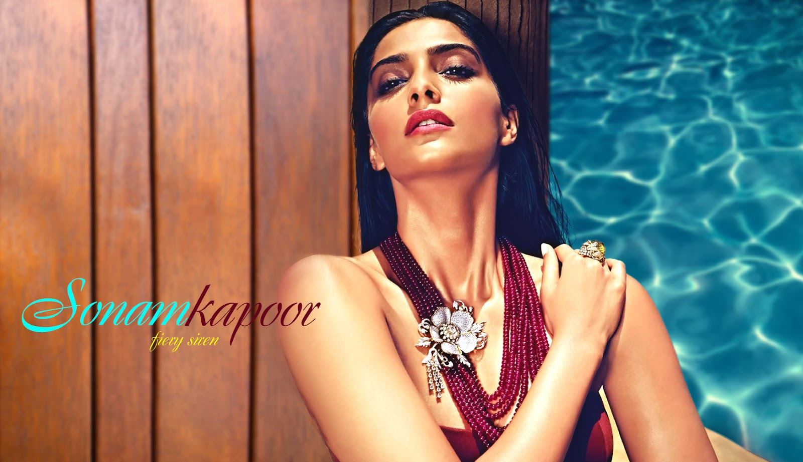 sonam kapoor hd pool images