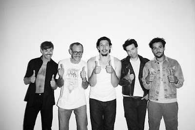 The boys from GIRLS by Terry Richardson