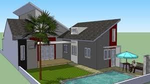 desain terbaru kolam renang untuk rumah minimalis gambar
