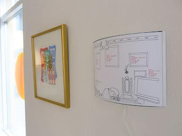 Konstlotteri-vinst från 1985 och kartläggning hemma hos vinnande medlem i konstföreningen
