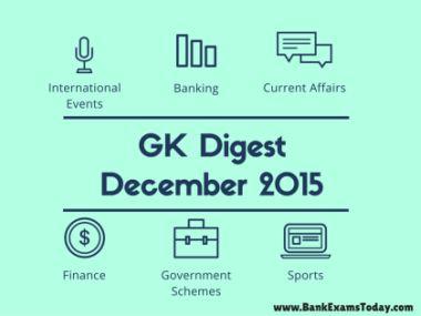 GK Digest December 2015