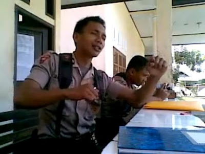 Video Polisi Gorontalo Menggila