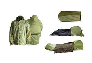 Jaket, sleeping bag atau tenda?