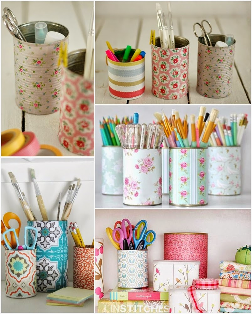 I d e a reciclar latas de conserva for Ideas para decorar reciclando