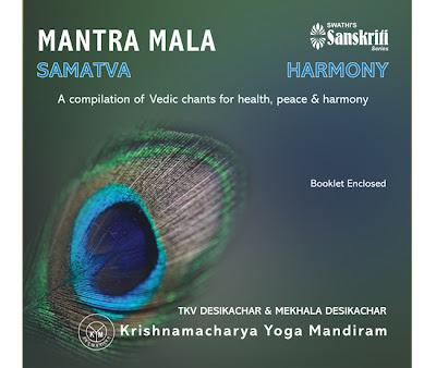 The Long Journey of a Blue Letter: Chanting and Yoga with Mekhala Desikachar of Krishnamacarya Yoga Mandiram