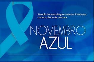 NOVEMBRO AZUL - UM TOQUE NÃO FAZ MAL A NINGUÉM!!