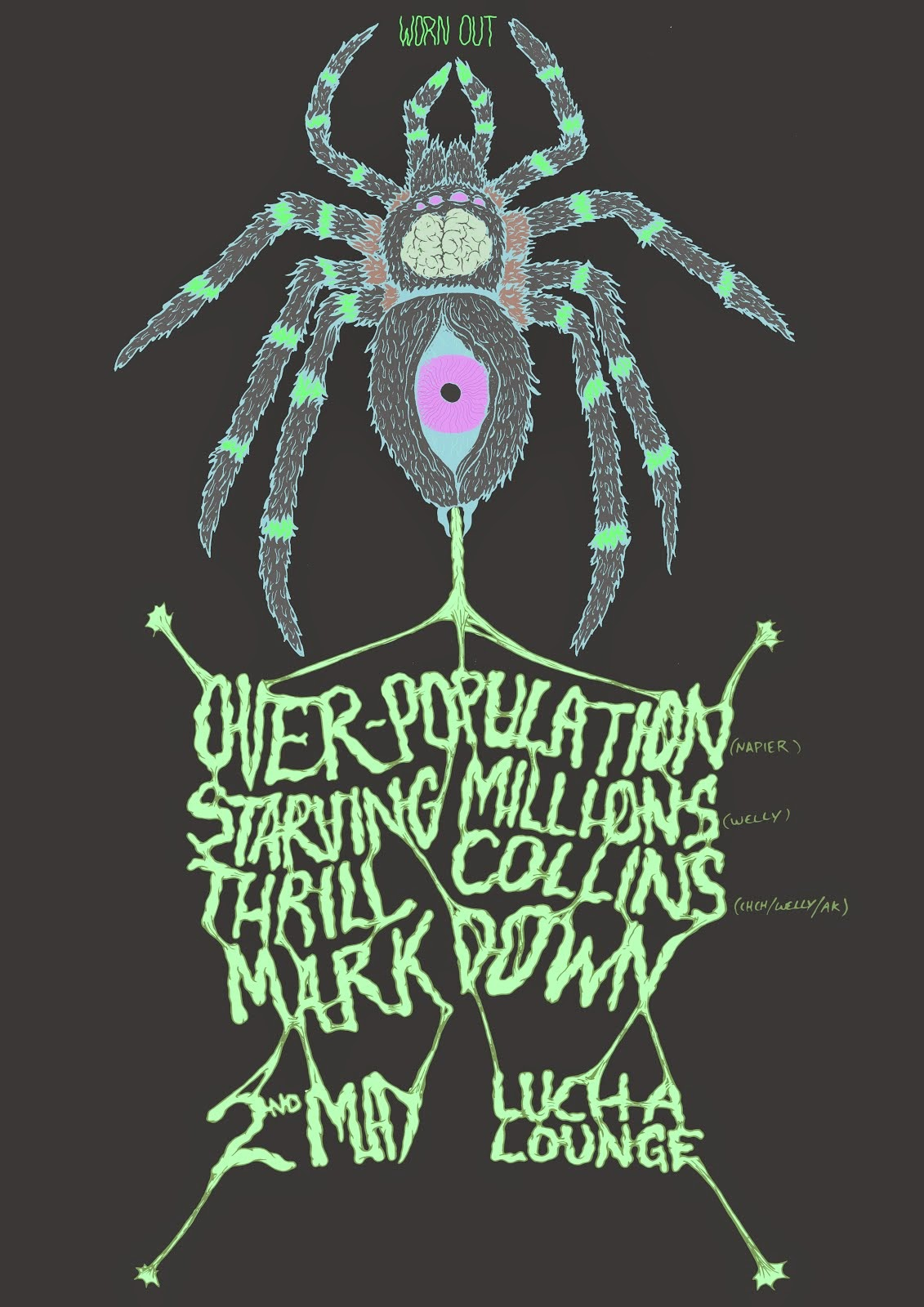 Starving Million/OverPopulation/Thrill Collins