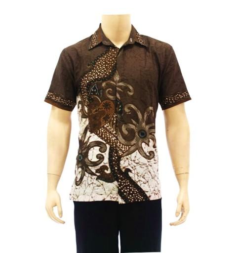 Model Baju Batik Kantor Pria Terbaru 2015