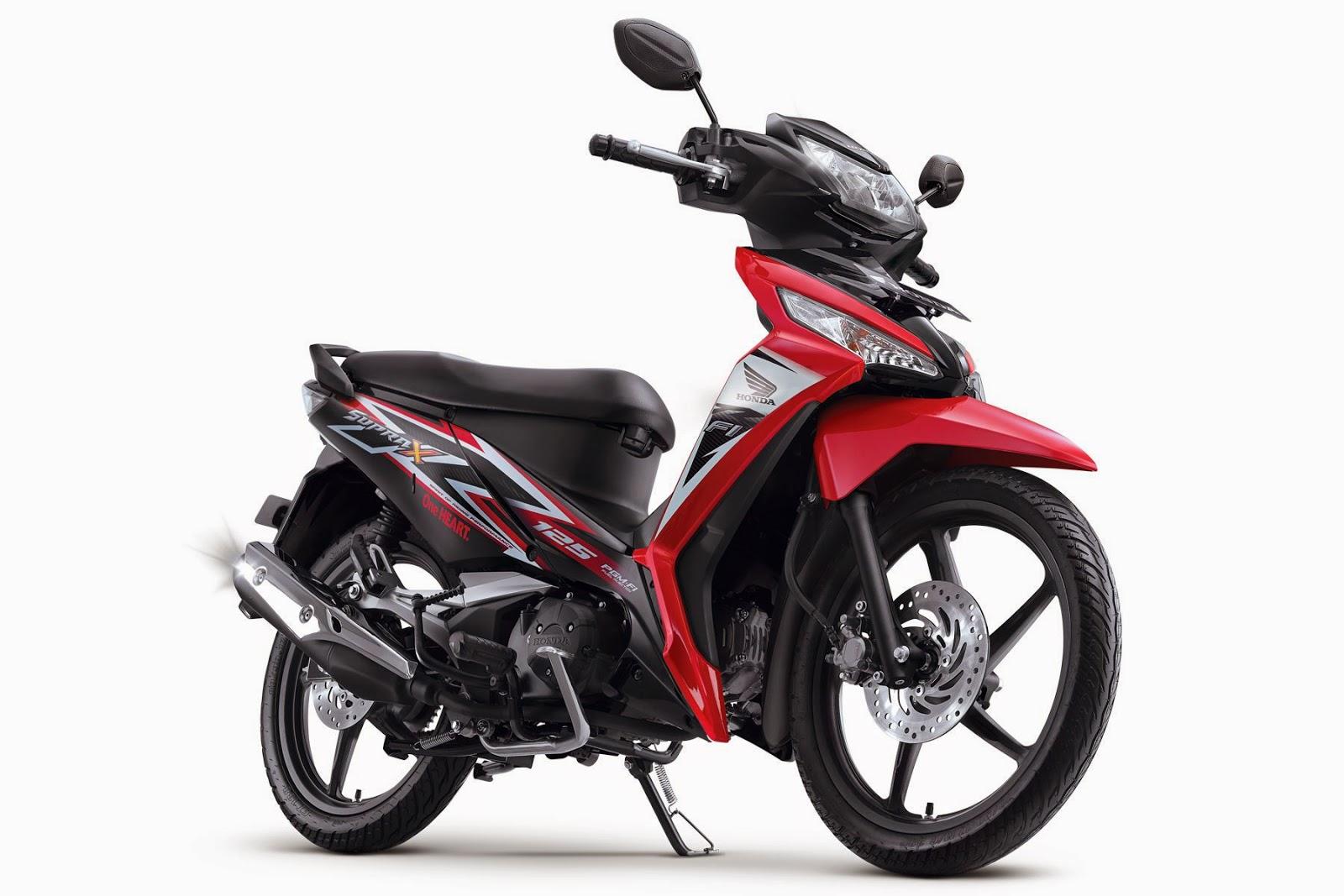 Spesifikasi Honda New Supra X 125 FI
