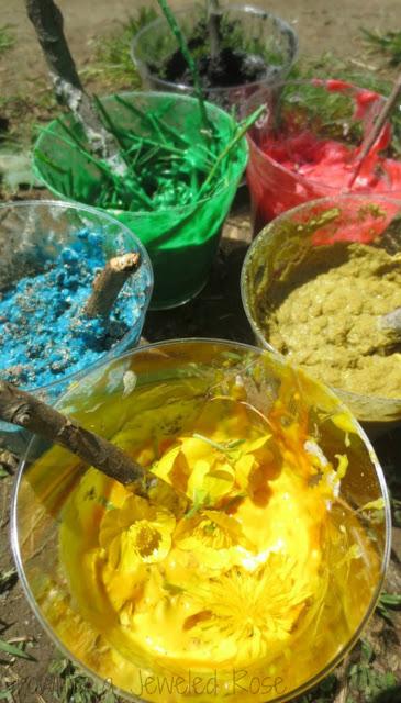 Make TEXTURE paints using a simple, no cook paint recipe
