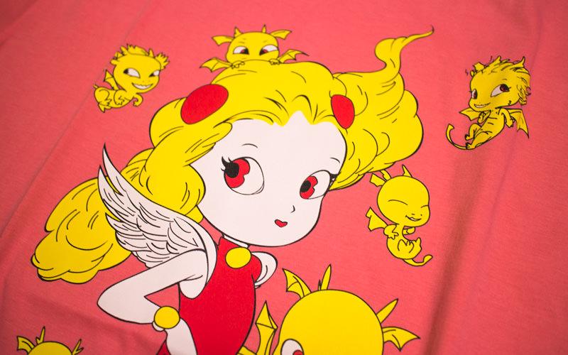 天野喜孝さんイラストの24時間テレビ チャリTシャツ