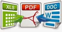 convertire/unire file PDF, Word o JPG