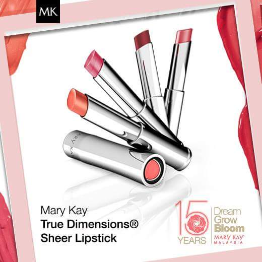 Mary Kay True Dimensions Sheer Lipstick