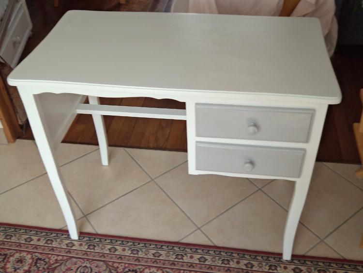 Repeindre un bureau en bois interesting bureau ou table de