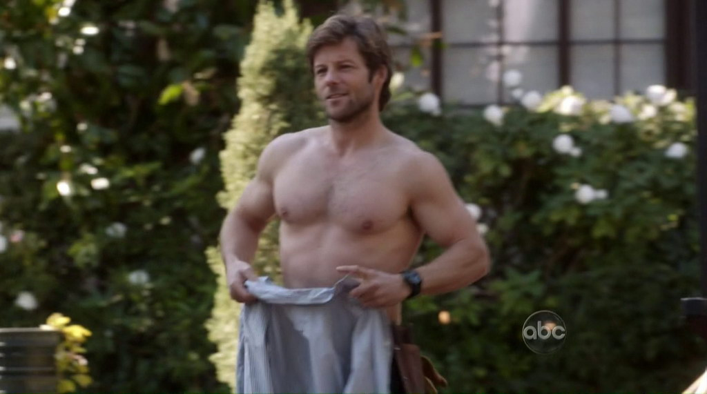 Jamie Bamber Shirtless Body of Proof s2e17 - Shirtless Men ...