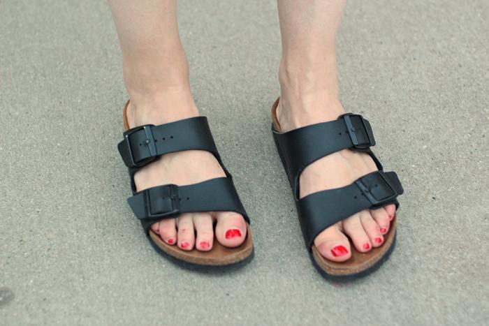 Birkenstock Arizona, schwarze Arizona, black Arizona, Schuhtrend, shoe trend