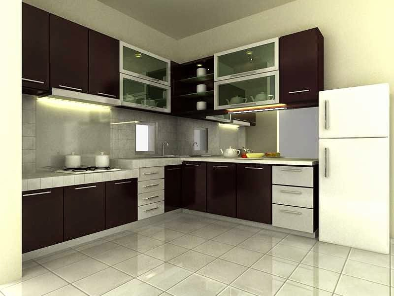 Model Desain Interior Dapur Rumah Minimalis 2014